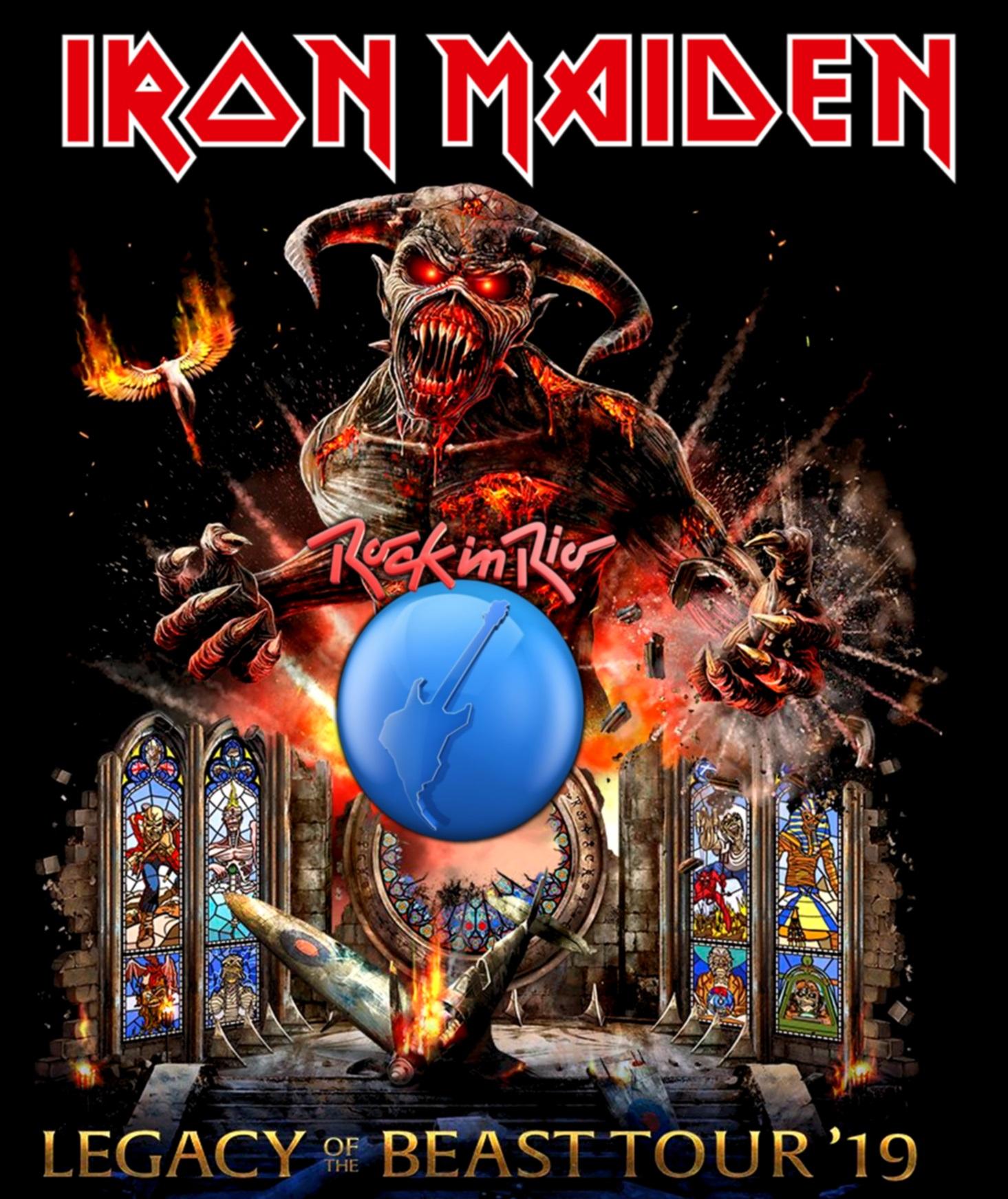 コレクターズBlu-ray Iron Maiden - Rock in Rio 2019