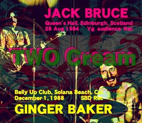 Jack Bruce84年& Ginger Baker88年& Friends live