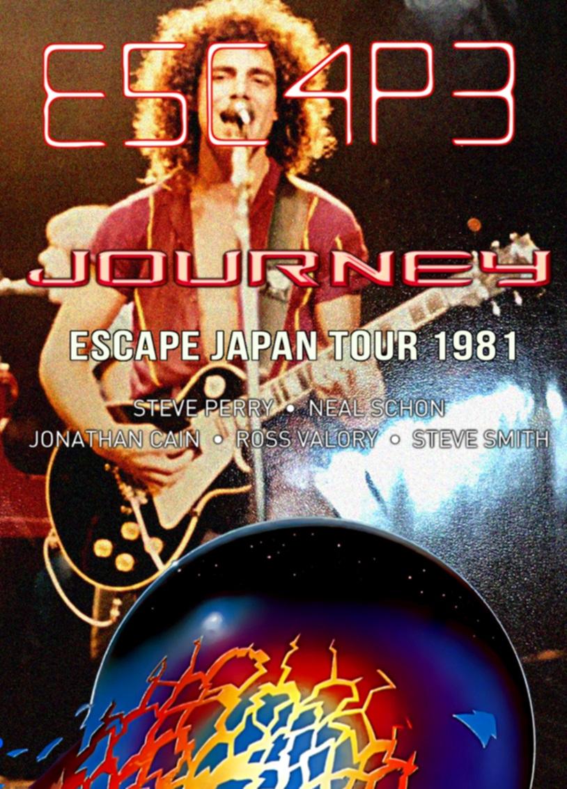 コレクターズDVD Journey - Escape Japan Tour 1981
