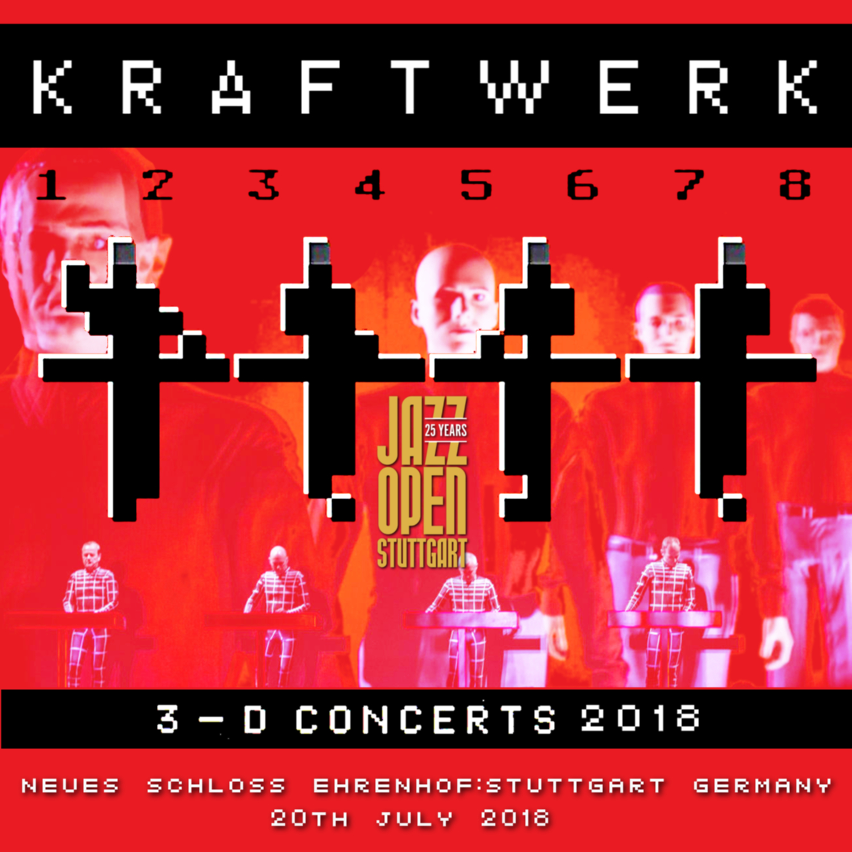 コレクターズCD KRAFTWERK - 3D concert 2018
