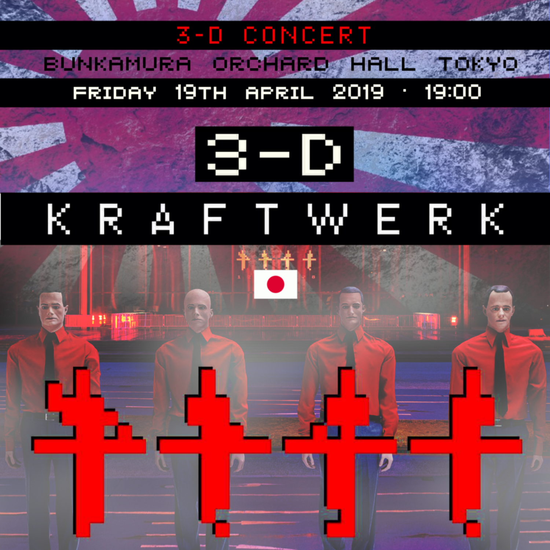 Kraftwerk - 3D concert in Japan 2019