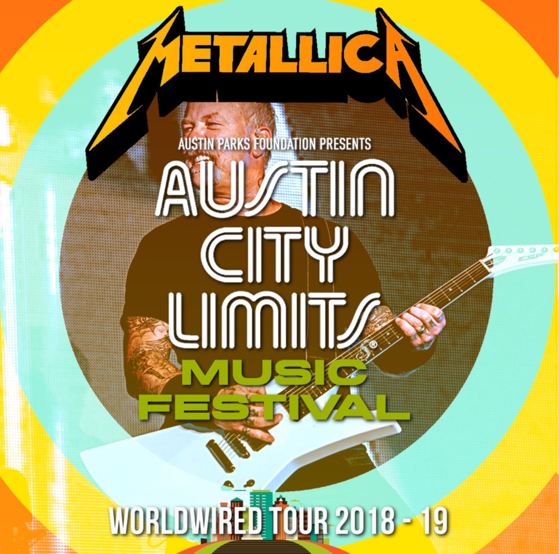 コレクターズCD Metallica - Worldwired Tour 2018 [Austin City Limits 2018]