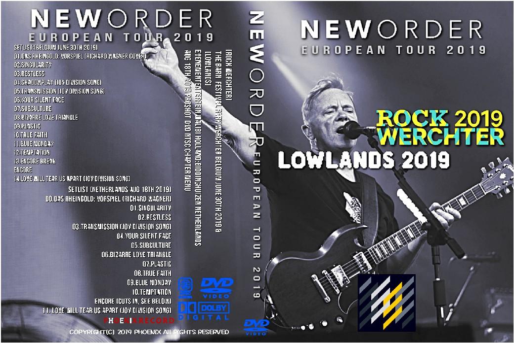 コレクターズDVD New Order - European Tour 2019