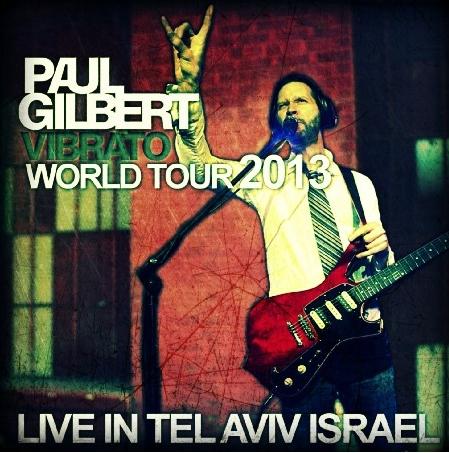 コレクターズCD  ポール・ギルバート(Paul Gilbert)2013年 World Tour