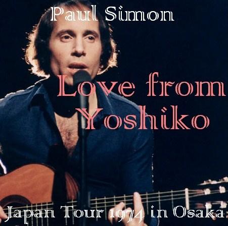 コレクターズCD Paul Simon(ポール・サイモン)Japan Tour 1974