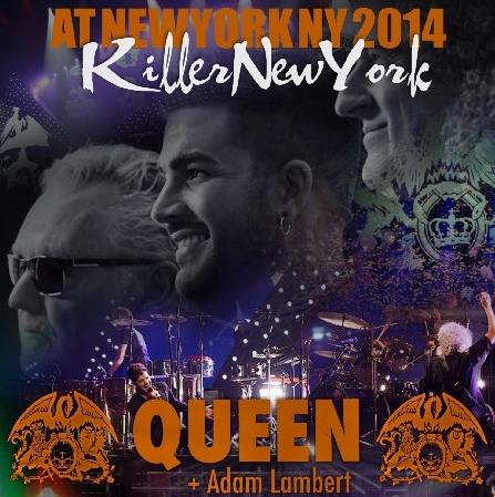 コレクターズCD Queen + Adam Lambert(クィーン&アダムランバート) 2014年アメリカツアー