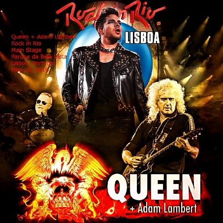 コレクターズCD クイーン+アダム・ランバー ト(Queen + Adam Lambert)2016年ツアー [Rock in Rio]