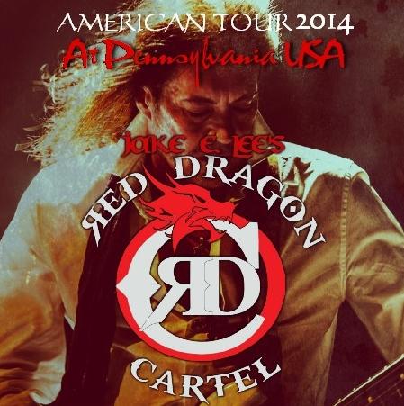 コレクターズCD Red Dragon Cartel(レッド・ドラゴン・カーテル) 2014年アメリカツアー