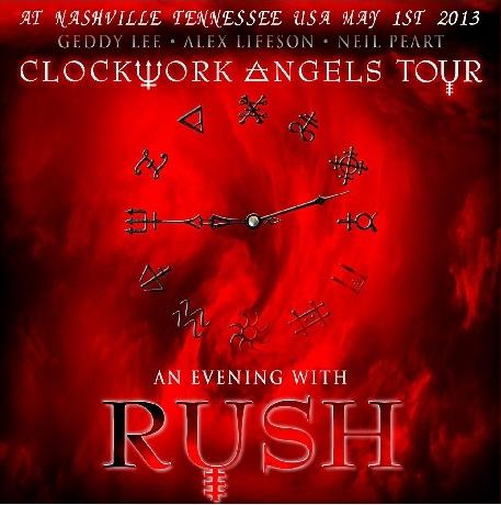 コレクターズCD ラッシュ(Rush)2013年アメリカツアー