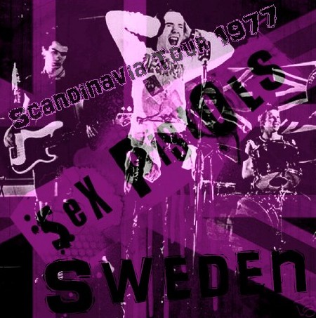 コレクターズCD セックス・ピストルズ (Sex Pistols)77年スカンジナビア公演 Sweden