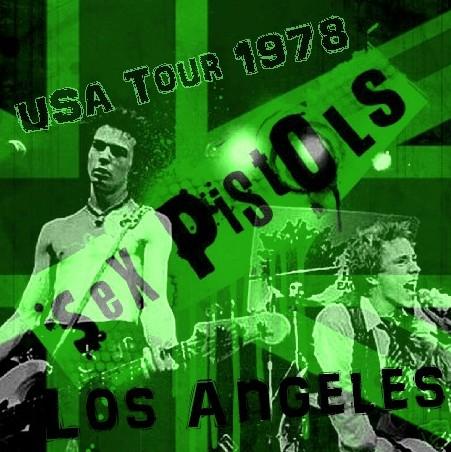 コレクターズCD セックス・ピストルズ (Sex Pistols)78年アメリカ公演 Los Angeles