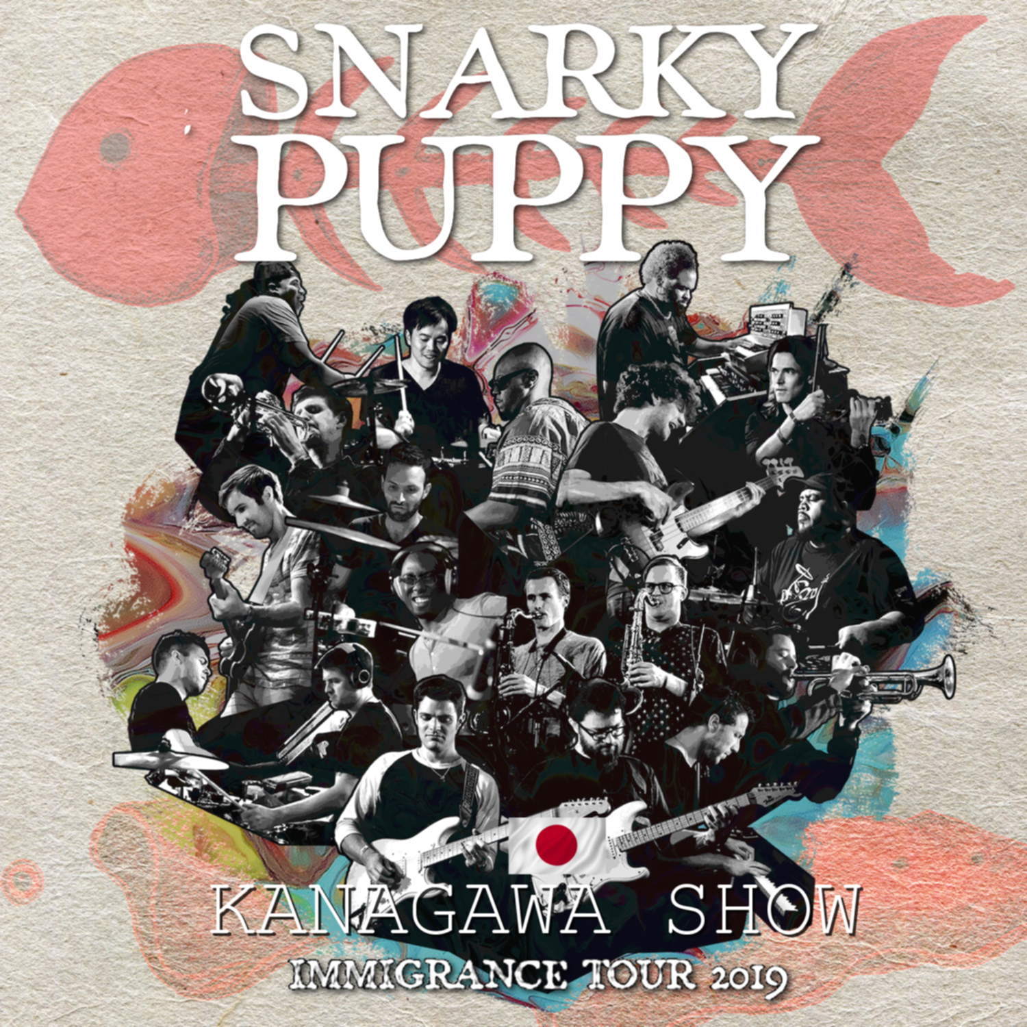 コレクターズCD Snarky Puppy - Immigrance Japan Tour 2019