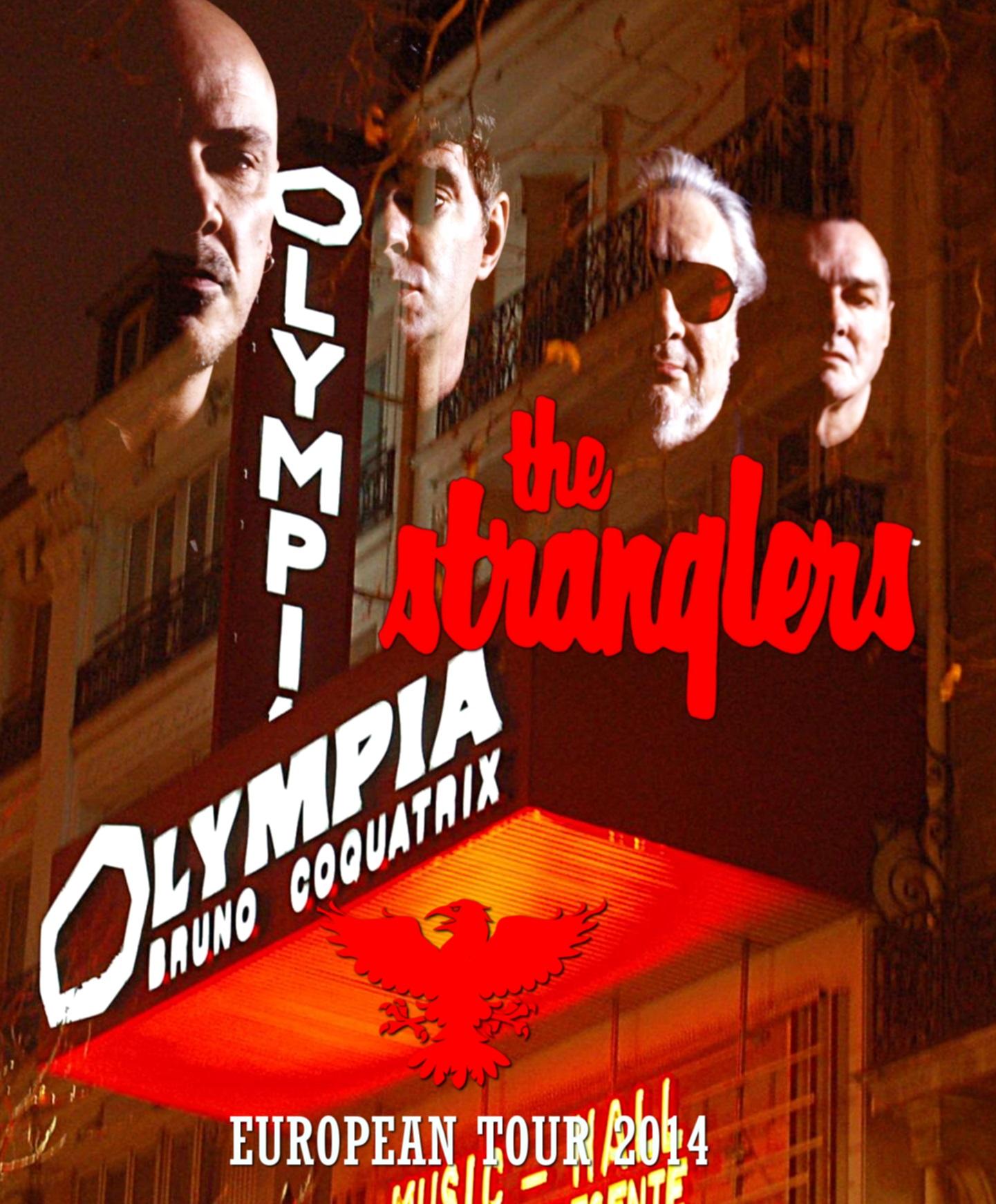コレクターズBlu-ray The Stranglers - European Tour 2014