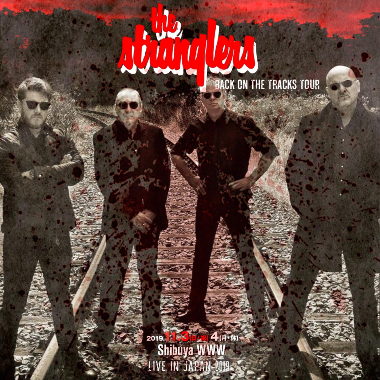 コレクターズCD The Stranglers - Back On The Tracks Japan Tour 2019
