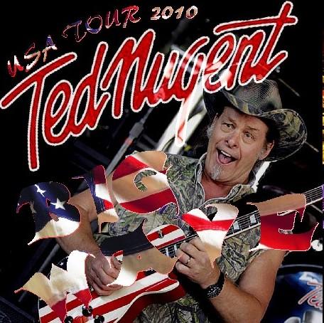 コレクターズCD テッド・ニュージェント(Ted Nugent)2010年アメリカツアー