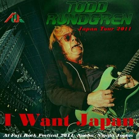 コレクターズCD Todd Rundgren(トッド・ラングレン)2011年日本公演 Fuji Rock Festival