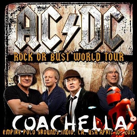 コレクターズCD AC/DC(エーシー・ディーシー)2015年ワールドツアー(Rock or Bust World Tour )