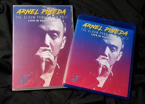 コレクターズBlu-ray  Arnel Pineda Solo Tour - Live in Vancouver 2017