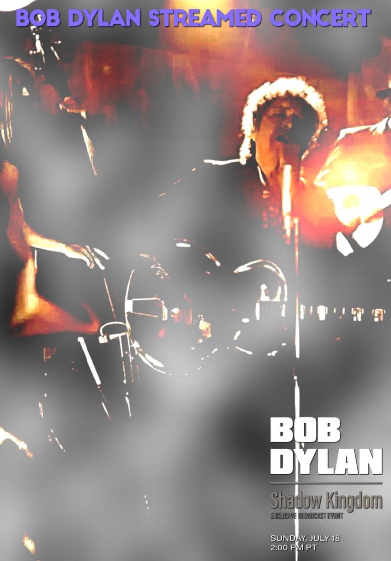 コレクターズDVD  Bob Dylan - SHADOW KINGDOM performance 2021