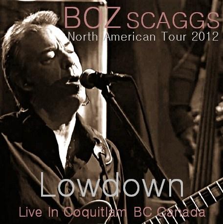 コレクターズCD ボズ・スキャッグス(Boz Scaggs)2012年北米ツアー