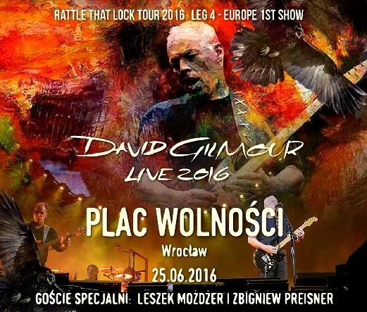 コレクターズCD デビッドギルモア 2016年ヨーロッパ公演