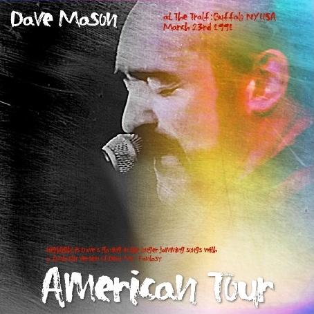 コレクターズCD デイブ・メイソン 1991年アメリカツアー