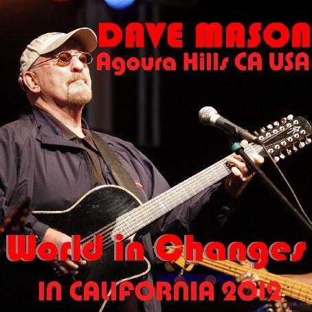 コレクターズCD デイヴ・メイスン(DAVE MASON)2012年アメリカツアー