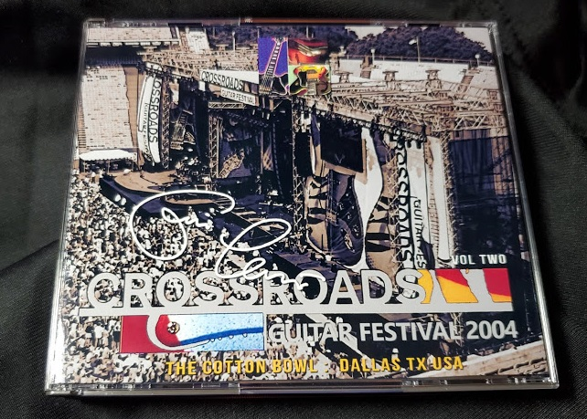 コレクターズCD Eric Clapton's Crossroads Festival2004