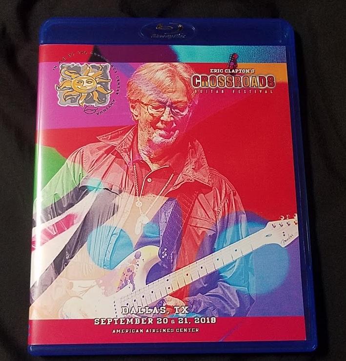 コレクターズBlu-ray Eric Clapton - Crossroads Guitar Festival 2019