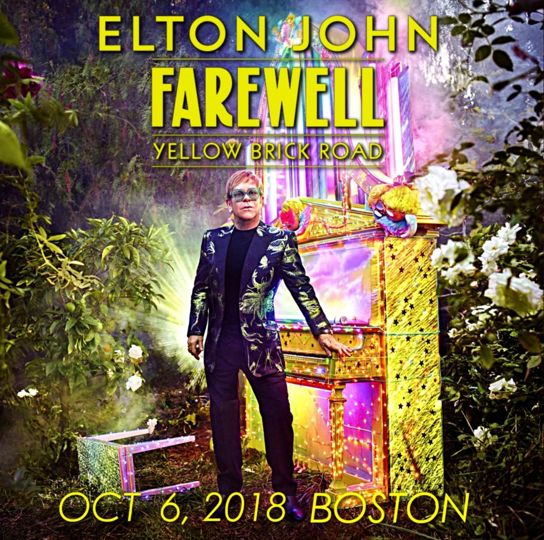 コレクターズCD Elton John -Farewell Yellow Brick Road World Tour 2018