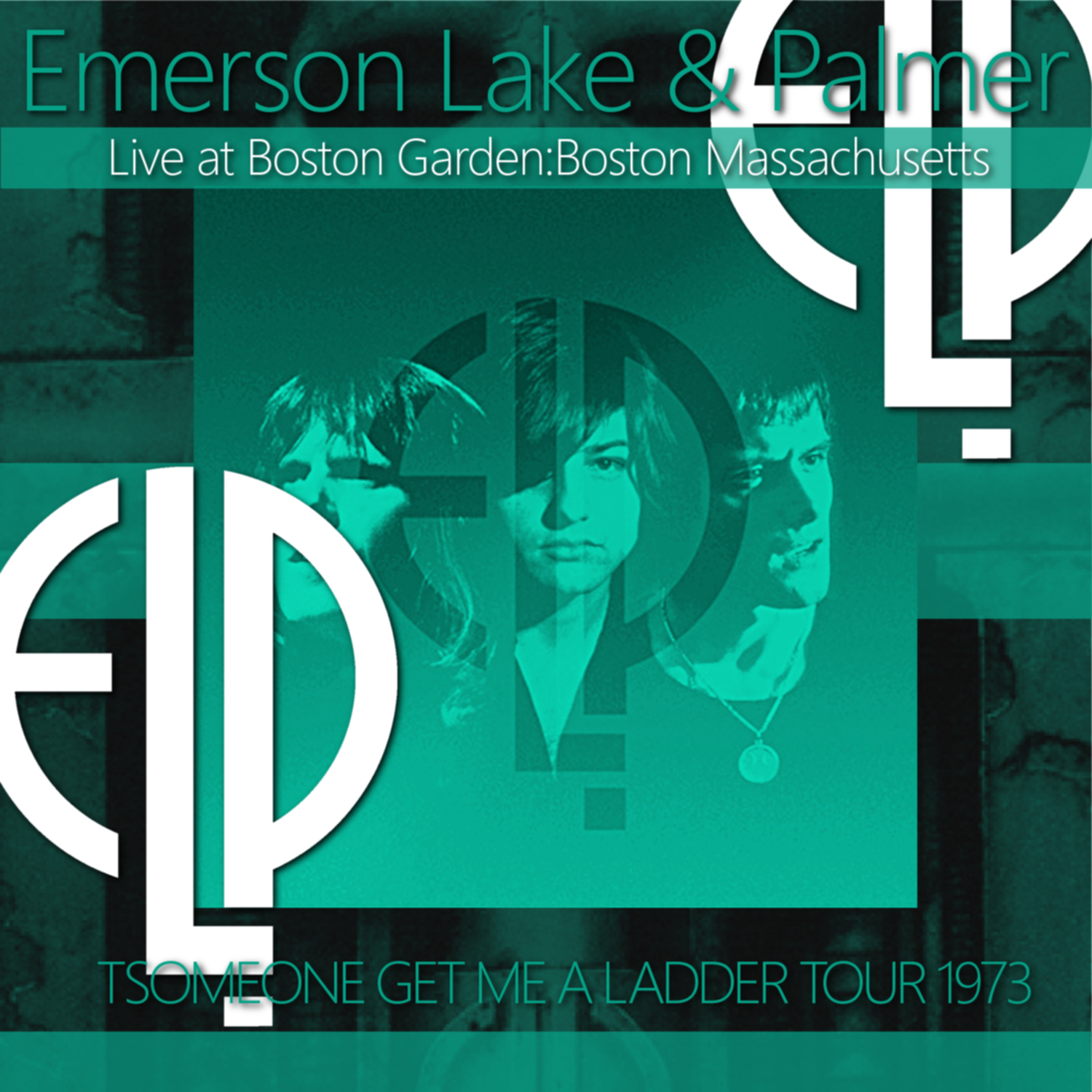 コレクターズCD Emerson, Lake & Palmer - Someone Get Me A Ladder Tour 1973