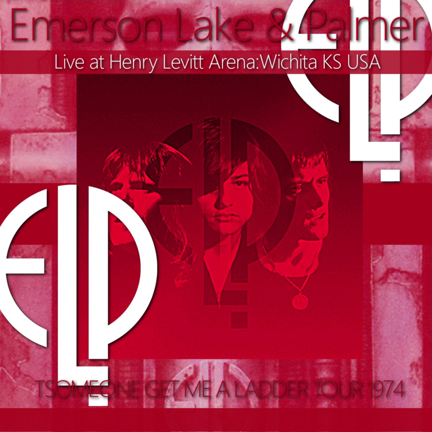 コレクターズCD Emerson, Lake & Palmer - Someone Get Me A Ladder Tour 1974