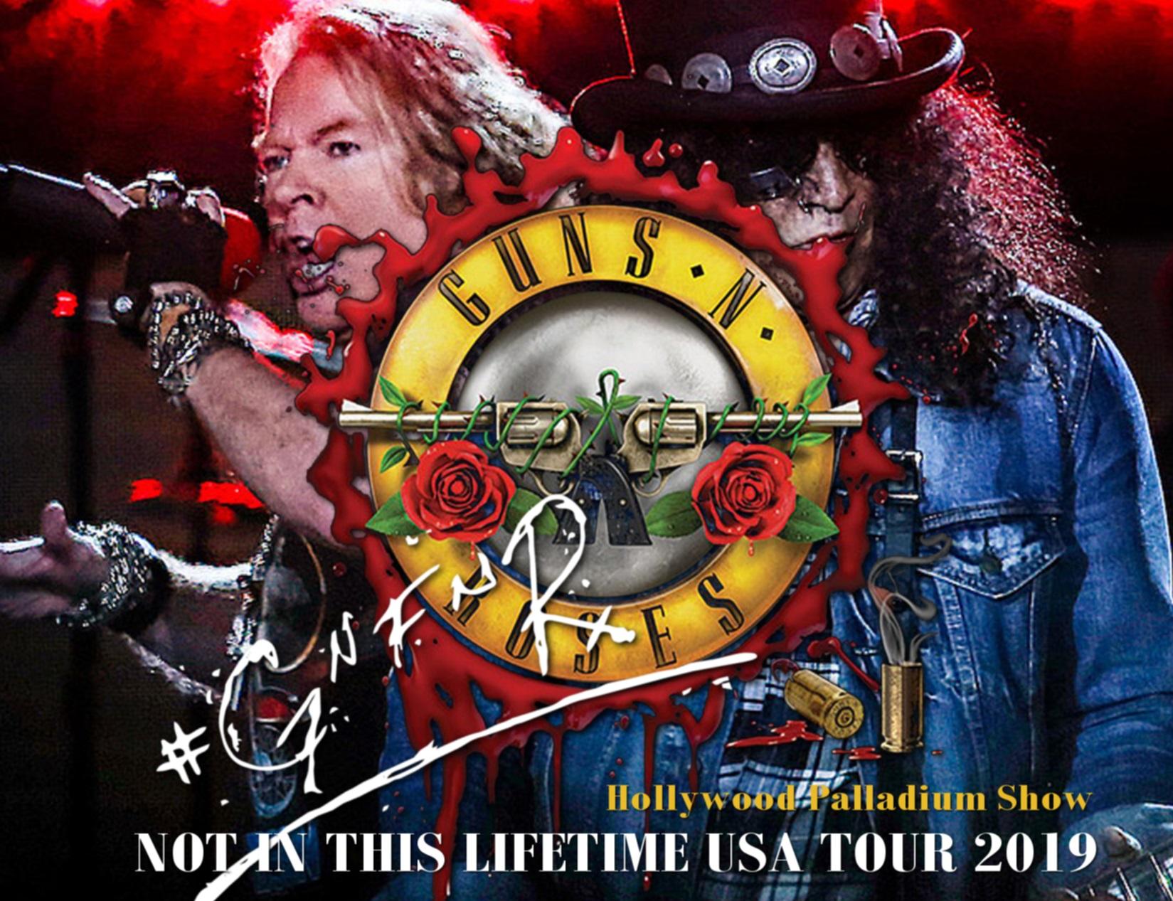 コレクターズCD Guns N' Roses - Not in this Lifetime  Tour 2019