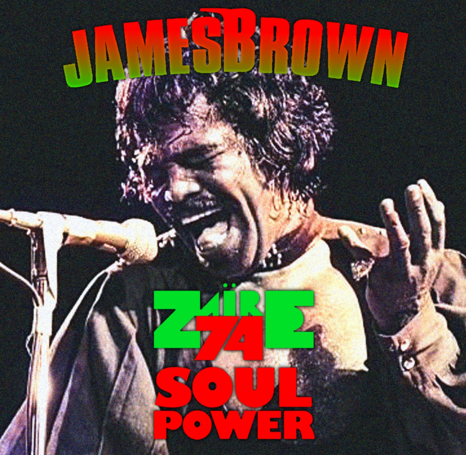 コレクターズCD ジェームスブラウン 1974年南アフリカ