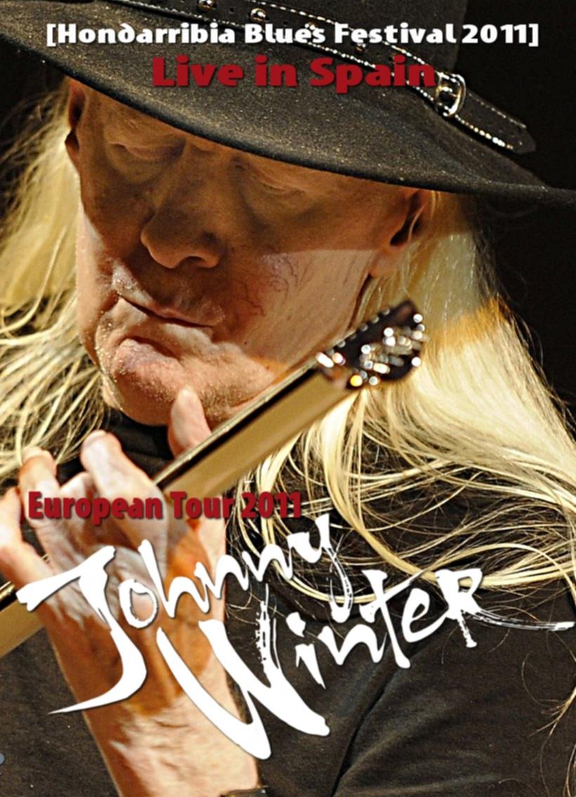 コレクターズDVD  Johnny Winter - European Tour 2011