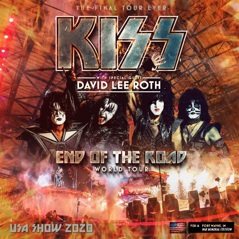 コレクターズCD Kiss - End of the Road World Tour 2020