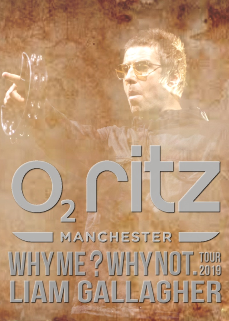 コレクターズDVD Liam Gallagher - Why Me? Why Not Tour 2019