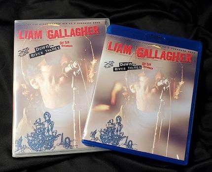 コレクターズBLu-ray  Liam Gallagher's Down By The River Thames gig on 2020