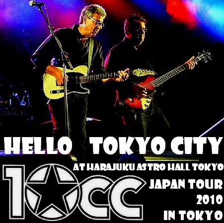 コレクターズCD 10cc(テンシーシー 2010年日本公演)ASTRO HALL Tokyo 2010.05.24