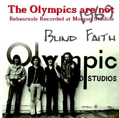 コレクターズCD Blind Faith(エリッククラプトンw/ブラインド フェィス 1969年 セッション)