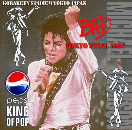 コレクターズCD Michael Jackson Bad World Tour 1987