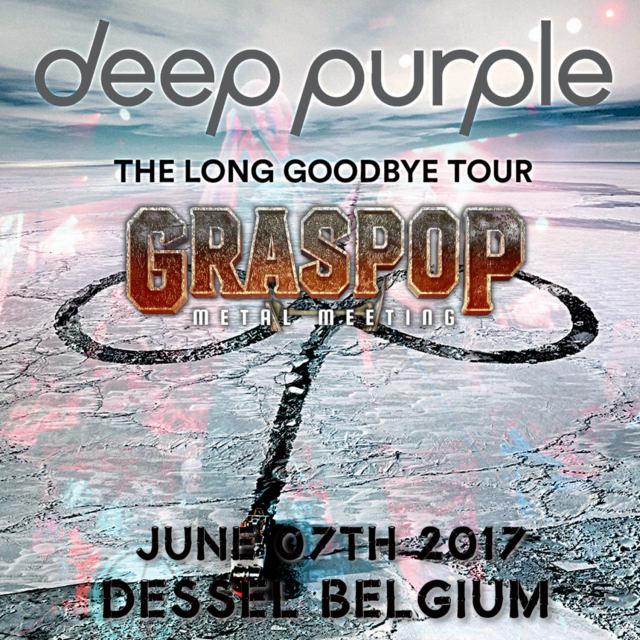 ディープパープル 2017年ヨーロッパツアー6月19日ベルギー(Graspop Metal Meeting)