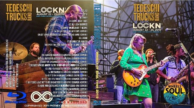 コレクターズBlu-ray Tedeschi Trucks Band - Wheels of Soul Tour 2019