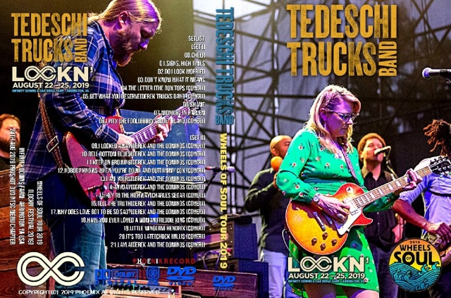コレクターズDVD Tedeschi Trucks Band -Wheels of Soul Tour 2019