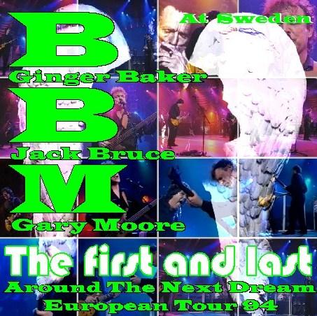 コレクターズCD ゲイリー・ムーアw/BBM(Baker-Bruce-Moore)94年 ヨーロッパツアー Sweden
