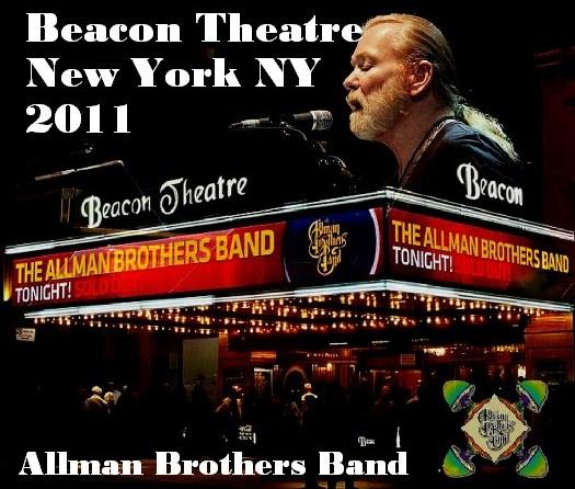 コレクターズCD Allman Brothers Band(オールマン・ブラザーズ・バンド)NY Beacon Theatre 2011.03.10