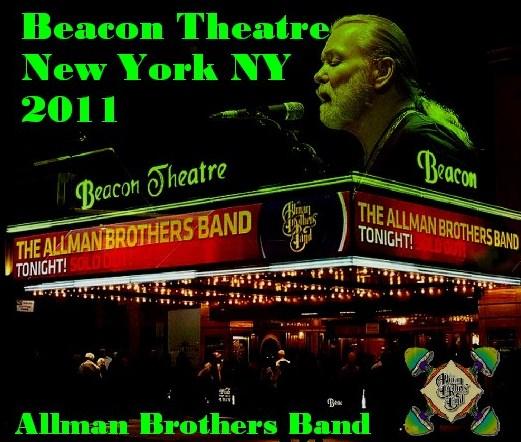 コレクターズCD Allman Brothers Band(オールマン・ブラザーズ・バンド)NY Beacon Theatre 2011.03.17