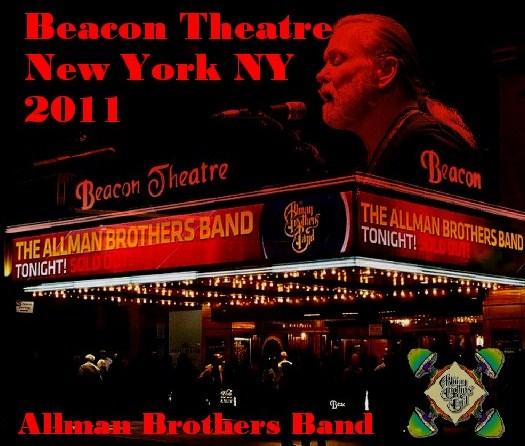 コレクターズCD Allman Brothers Band(オールマン・ブラザーズ・バンド)NY Beacon Theatre 2011.03.19