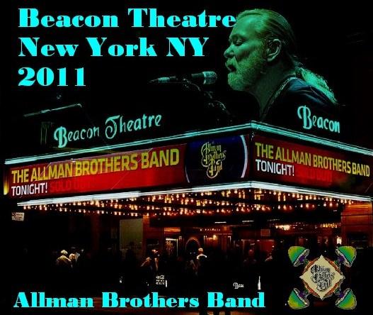 コレクターズCD Allman Brothers Band(オールマン・ブラザーズ・バンド)NY Beacon Theatre 2011.03.21