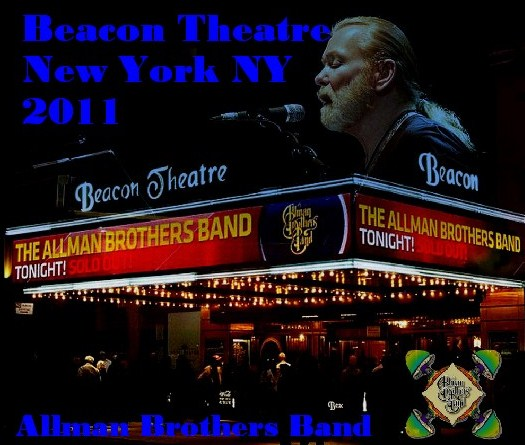 コレクターズCD Allman Brothers Band(オールマン・ブラザーズ・バンド)NY Beacon Theatre 2011.03.26